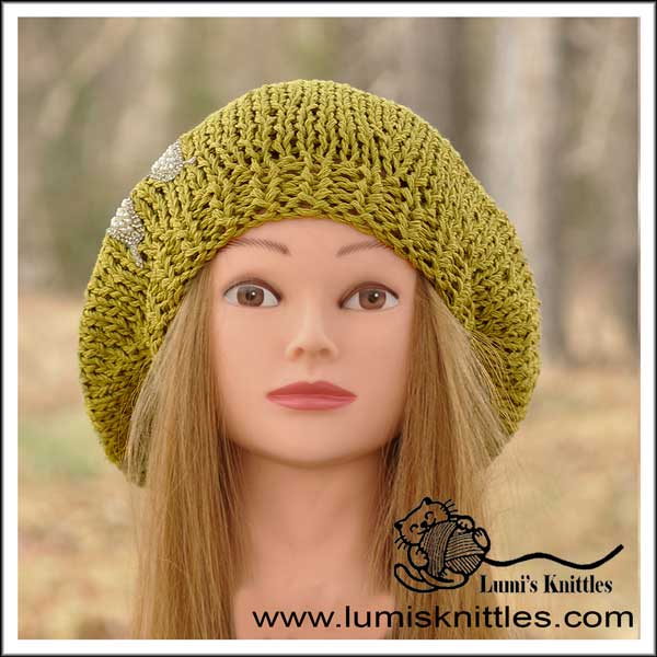 Lime Green Beret
