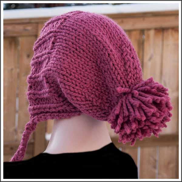 Raspbery Floppy Ear Hat