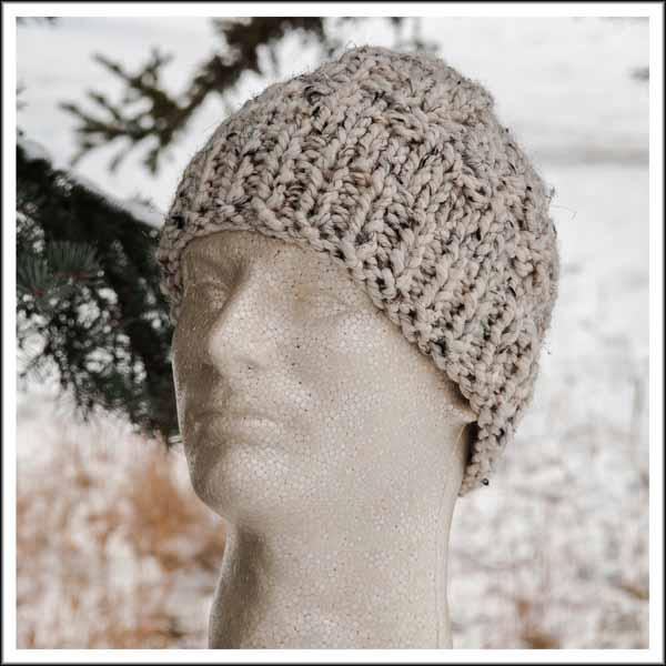Oatmeal Beanie Hat